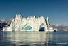 Iceberg caves