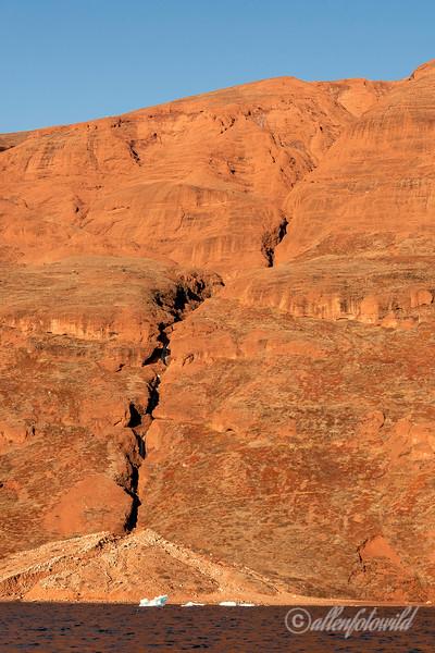 Erosion channel