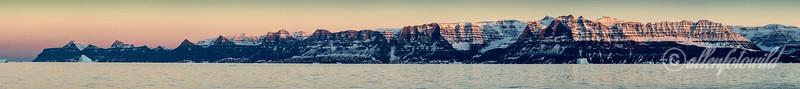 Gaseland sunset panorama