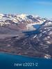 East Greenland aerial shot