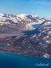 East Greenland aerial shot