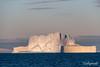 Pink iceberg at sunset - Terry Allen
