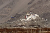 The plane and the gompa