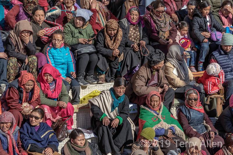 Colourful pilgrims