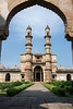 """15th Century Jami Masjid (Masjid means mosque) seen from the East Porch.<br /> <br /> This is the best preserved of the monuments in Champaner-Pavagadh Archaeological Park.  It is famous for its blend of Hindu and Moslem architcture.  The East Porch and other shots of the mosque, which are well worth a look, can be seen here: <a href=""""http://goo.gl/GSl5Qe"""">http://goo.gl/GSl5Qe</a><br /> <br /> 2/11/13  <a href=""""http://www.allenfotowild.com"""">http://www.allenfotowild.com</a>"""