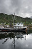 """Reflected fishing boat, Hartley Bay, mid-coast British Columbia<br /> <br /> Some aerial photos of the grizzly country of the Great Bear rainforest can be seen here: <a href=""""http://goo.gl/5e5msm"""">http://goo.gl/5e5msm</a><br /> <br /> 12/11/13  <a href=""""http://www.allenfotowild.com"""">http://www.allenfotowild.com</a>"""