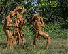 """Mud men dance, Santa Ana Island, Solomon Islands<br /> <br /> Photos of a women's dance where they are dressed up in Klu Klux Klan hats, and a photo of a giant megapod egg (birds that incubate their eggs in composted materials) can be see heres;  <a href=""""http://goo.gl/LQHNWJ"""">http://goo.gl/LQHNWJ</a><br /> <br /> 14/11/13 www.allenfotowild"""