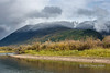"""Fall colors with fresh snow on the peaks, Mitchell River, Cariboo-Chilcotin region, British Columbia<br /> <br /> You can actually see the snow line, below which the precipitation fell as rain.  <br /> <br /> Other photos of the beautiful fall colors and the Cariboo Mountains can be seen here: <a href=""""http://goo.gl/93RDeD"""">http://goo.gl/93RDeD</a><br /> <br /> 25/11/13  <a href=""""http://www.allenfotowild.com"""">http://www.allenfotowild.com</a>"""