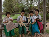 "School children and their pet cat, Inle Lake, Myanmar<br /> <br /> Other photos from the local area can be seen here including an ox cart, the floating gardens and a leg rowing girl: <a href=""http://goo.gl/c5UD5H"">http://goo.gl/c5UD5H</a><br /> <br /> 28/04/14  <a href=""http://www.allenfotowild.com"">http://www.allenfotowild.com</a>"
