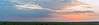 Panoramic sunrise