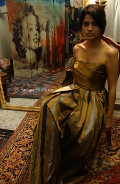 vestito scianto di seta