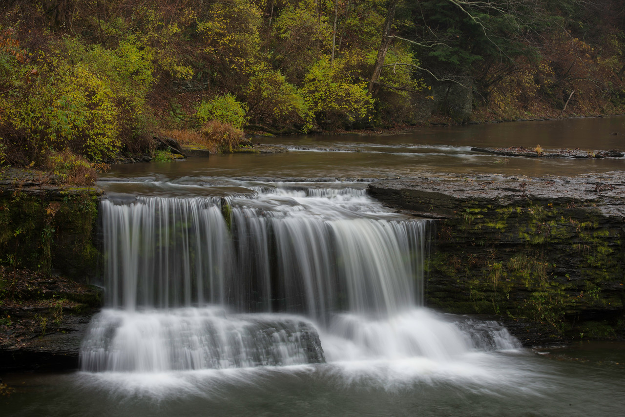 October 23 - Upperville Falls.  Starting to get a bit more flowing water in the area streams.  Smyrna, NY