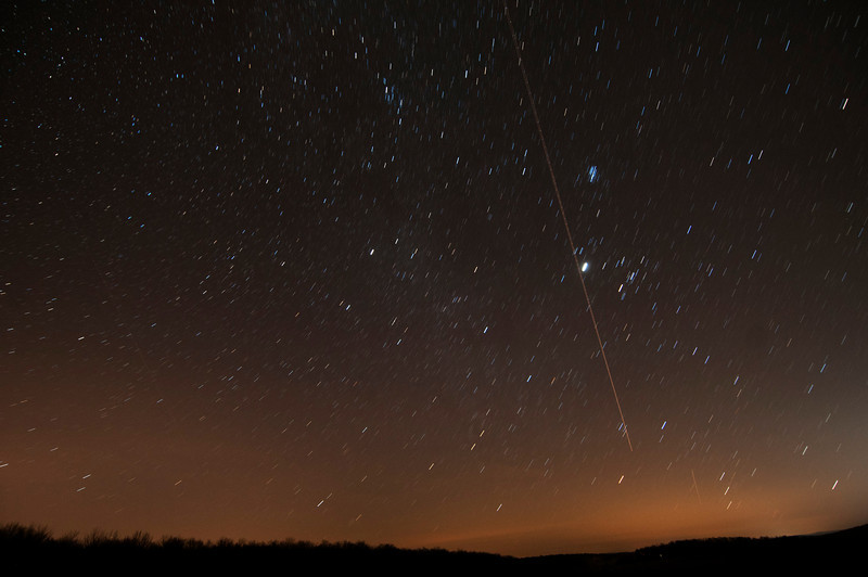 December 13 - My first meteor photograph