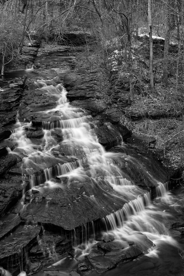 November 28 - Upstream from Rexford Falls, Sherburne, NY