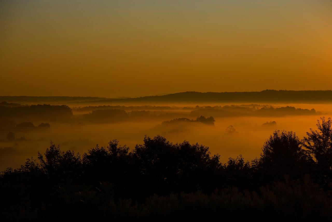 August 23 - Valley Fog in Columbus.
