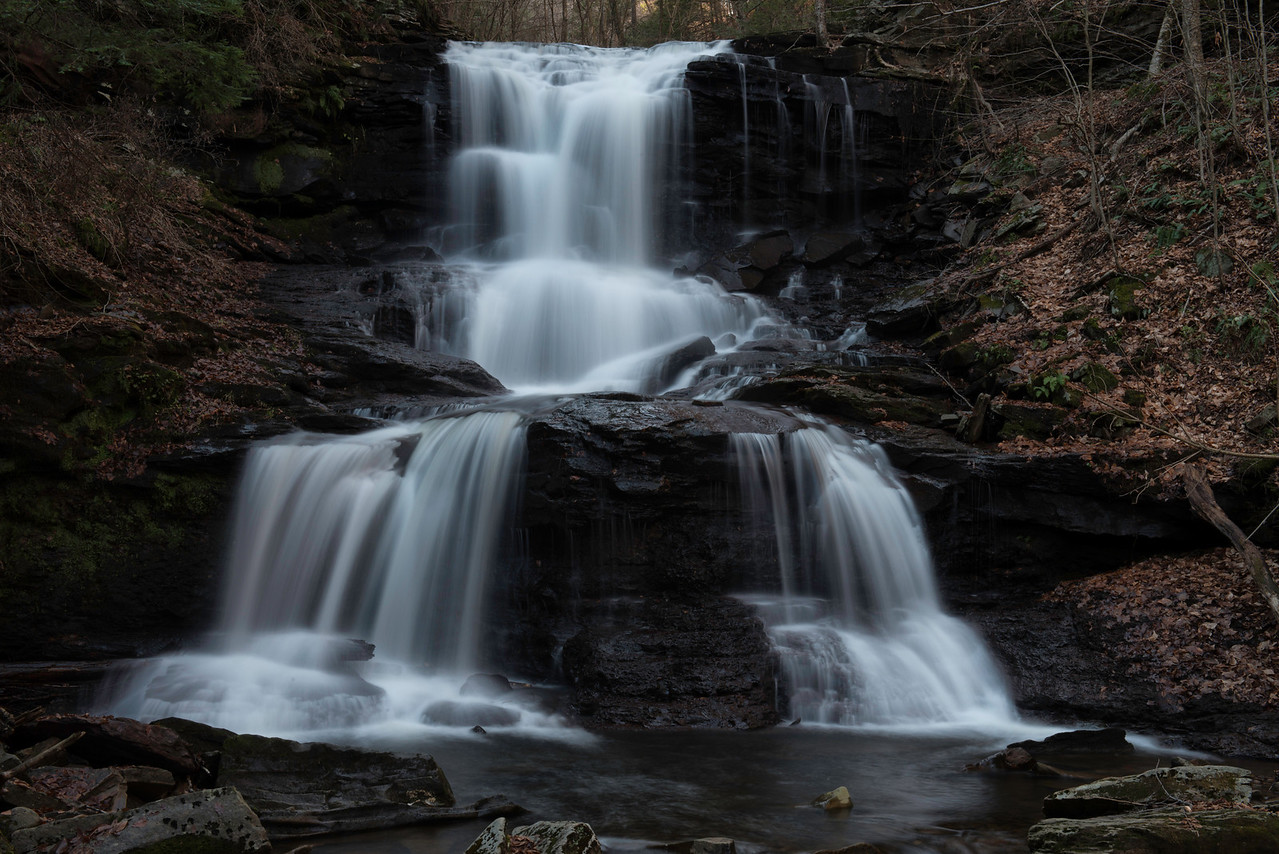 November 11 - Ricketts Glenn is an amazing place for waterfalls!!!!