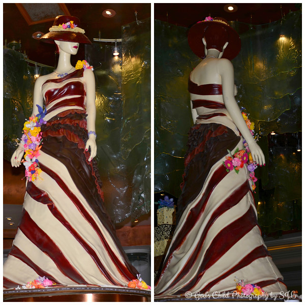 """LADY CHOCOLATE"" by award winning pastry chef Jean-Philippe  Maury"