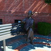 """WILLIAM FAULKNER STATUE"""