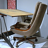 "GEORGE FISHER'S ""DRAWING TABLE AND CHAIR"" (1950 - 2000)"