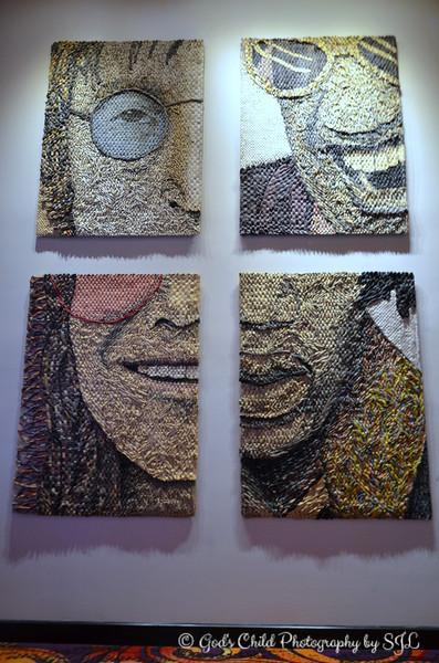 """""""NEWSPAPER WALL ART II"""" by Gugger Petter"""