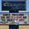 """SANTA PREACHING.......TODAY"""