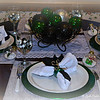 """ELEGANT EMERALD, BOLD BLACK, SHINY SILVER, AND WONDERLAND WHITE"" Theme"