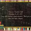 """""""AMERICAN EDUCATION WEEK"""" 2015"""