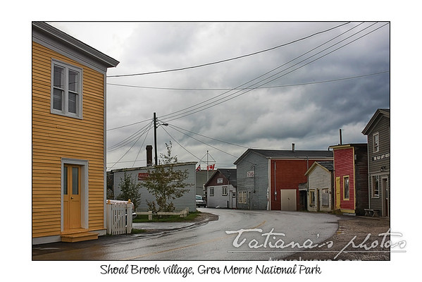 Gros Morne National Park, Shoal Brook Village