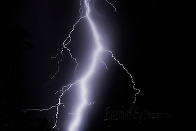 """L"" is for LIGHTNING! I took a weather photography class a few years back and it was so much fun!  The hardest part is finding time to be in the right spot when lightening is predicted....and then, staying out of its way!"