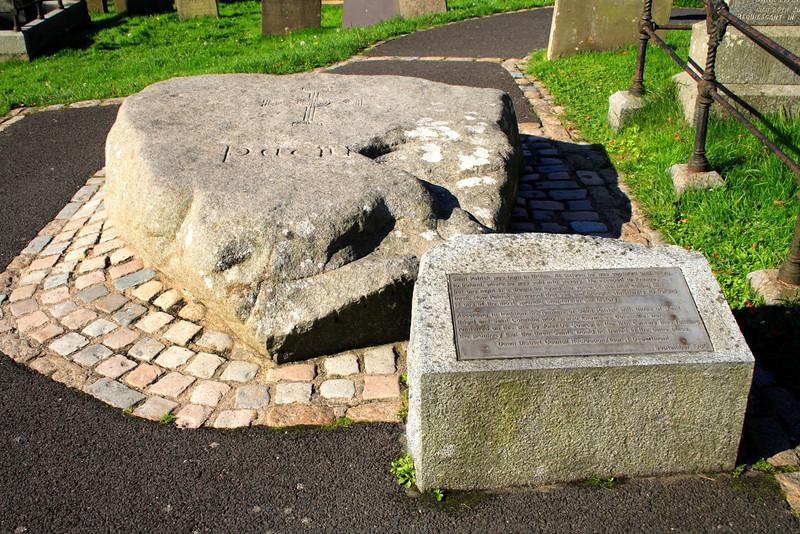St Patrick's Grave<br /> Downpatrick<br /> County Down
