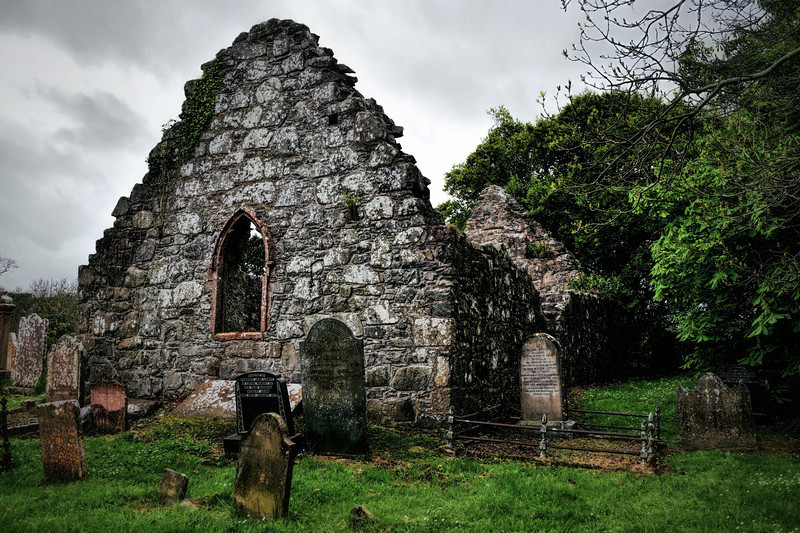 The old Church at Tullynakill, County Down<br /> Picture Date: 4th May 2014<br /> Post Date: 5th May 2014