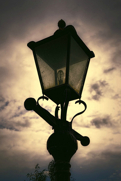 Old Lamp<br /> Brookeborough Railway Station<br /> County Fermanagh<br /> Post Date: 22nd April 2014