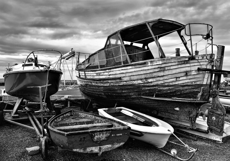 Groomsport harbour<br /> County Down<br /> 6th June 2014