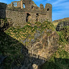 Dunluce Castle on the north Antrim coast.<br /> Post Date:- 19th February 2014