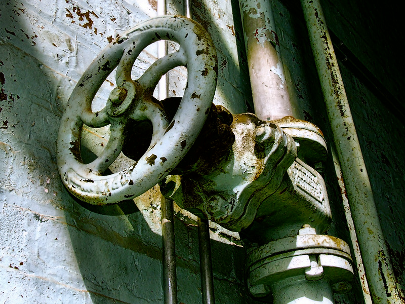 Old pumphouse valve
