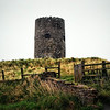 The Remains of an old windmill in Portaferry, County Down