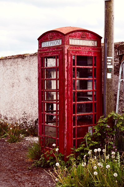 Telephone Kiosk<br /> Ardmillan<br /> County Down<br /> Friday, 22nd May 2015