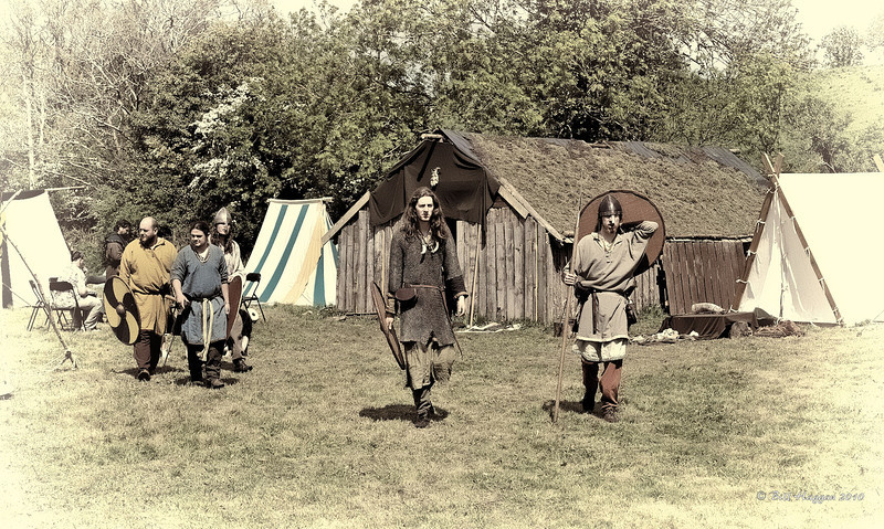 Vikings, King Magnus Barelegs' grave, Quoile marshes, Downpatrick