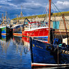 Portavogie harbour<br /> County Down