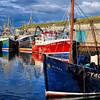 Portavogie harbour<br /> County Down