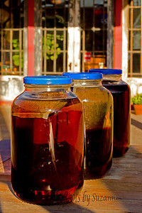 Sun Tea at Porter's Cafe, Superior, AZ.  Amazing food, wonderful tea.