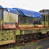 CIE Maybach Diesel Hydraulic Locomotive E432, presently awaiting restoration at Downpatrick Sidings.