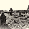 Lonely graveyard, Dunluce, County Antrim