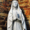 Religious Statue<br /> Maghera<br /> County Londonderry<br /> Picture Date: 4th August 2013
