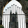 Old Church, seen through a gated window. <br /> Holywood, County Down<br /> Pictured by Michelle