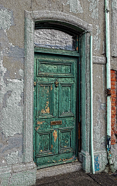 Weathered door, Aughnacloy
