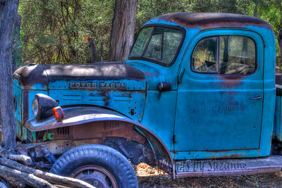Some of us have seen better days....the Dodge Power Wagon