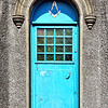 Door with Masonic symbols, Ardglass, County Down