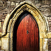 18th July 2013. The Old Priory door. Holywood, County Down. Photo taken 17/7/2013<br /> Thank you all for your lovely comments yesterday!