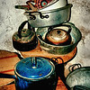Old kitchen utensils<br /> Still Life<br /> Post Date: 10th September 2013